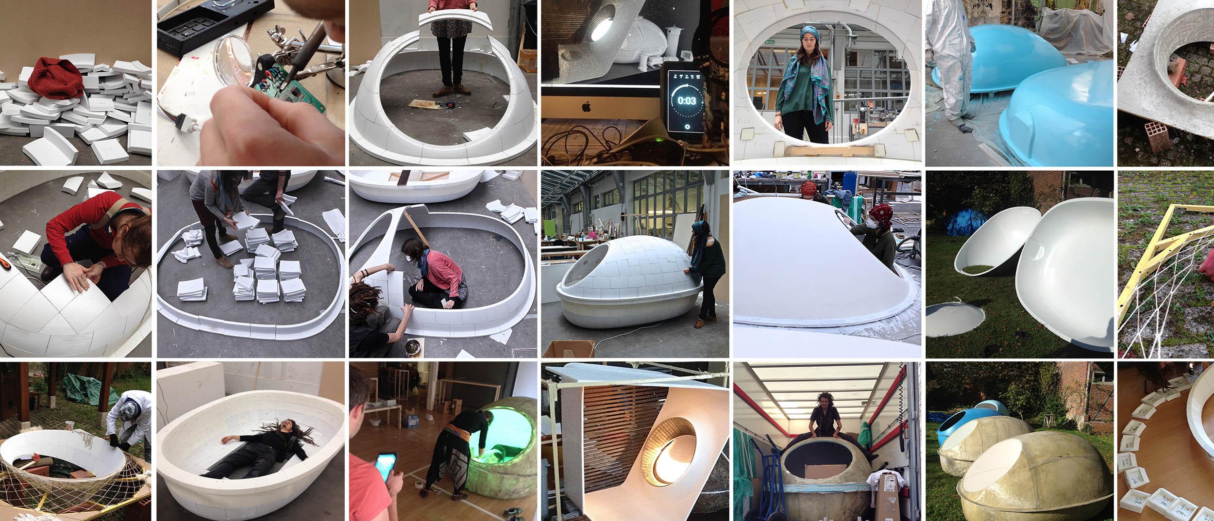 fabrication, impression 3D, caisson isolation sensorielle, do it yourself, DIY, meiso, Paris, cocon flottaison, jeune, entrepreneur, nouvelles technologies, innovation, maker
