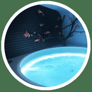 cabine de flottaison MEISO Source bulles à flotter Bain flottants caisson d'isolation sensorielle