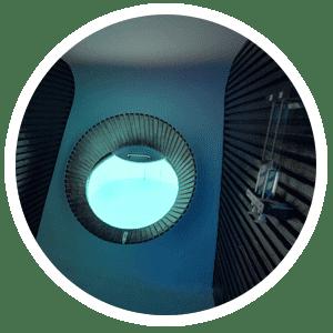 Cabine flottaison MEISO Cocon bulles flotter Bain flottant cocon caisson d'isolation sensorielle
